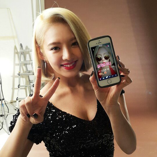 hyoyeon beauty talk 1