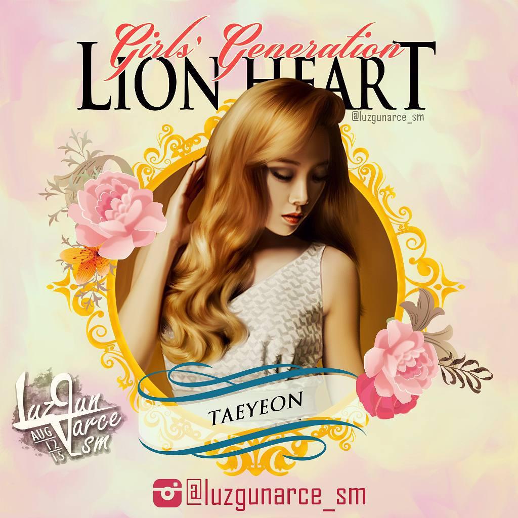 teayeon lion heart fanart