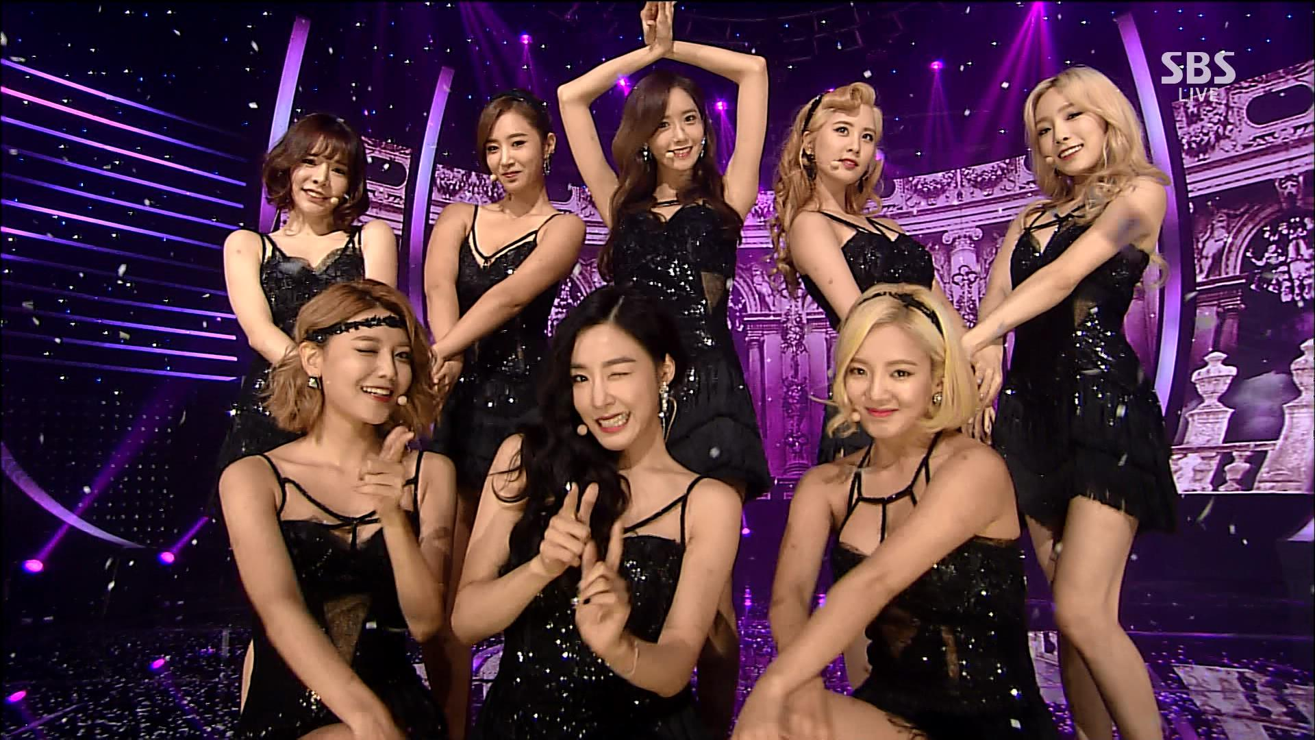 Girls' Generation Performs 'Lion Heart' on SBS's 'Inkigayo ...