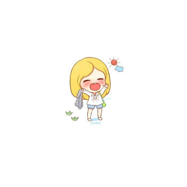 taeyeon chibi