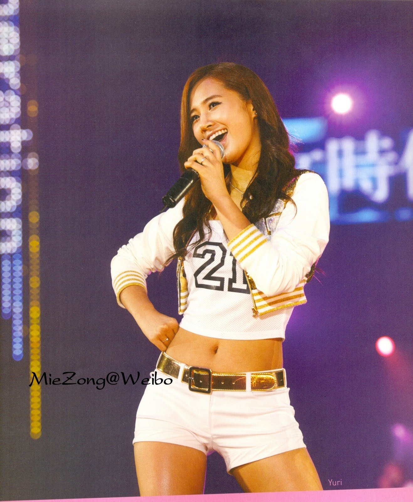 yuri happy face