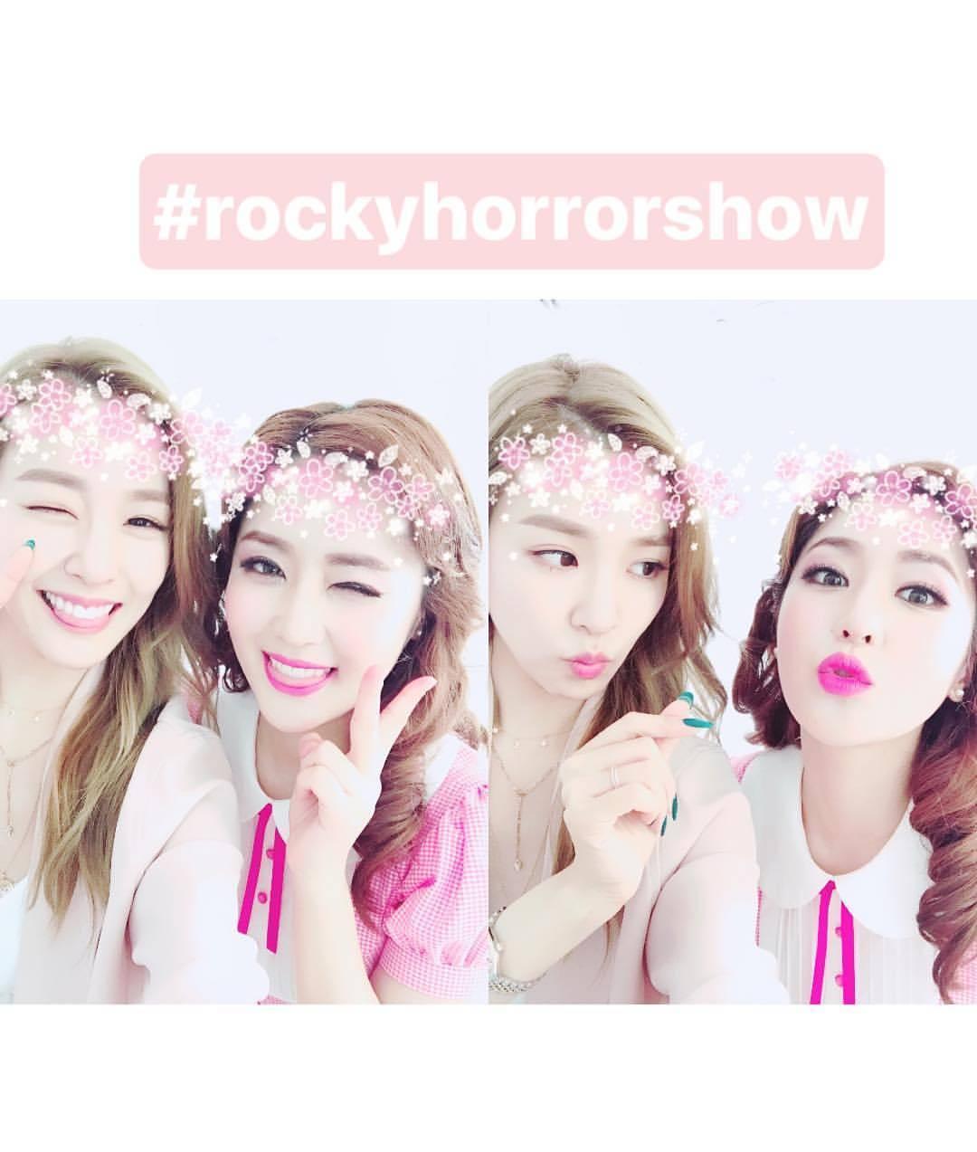 tiffany rocky horror show