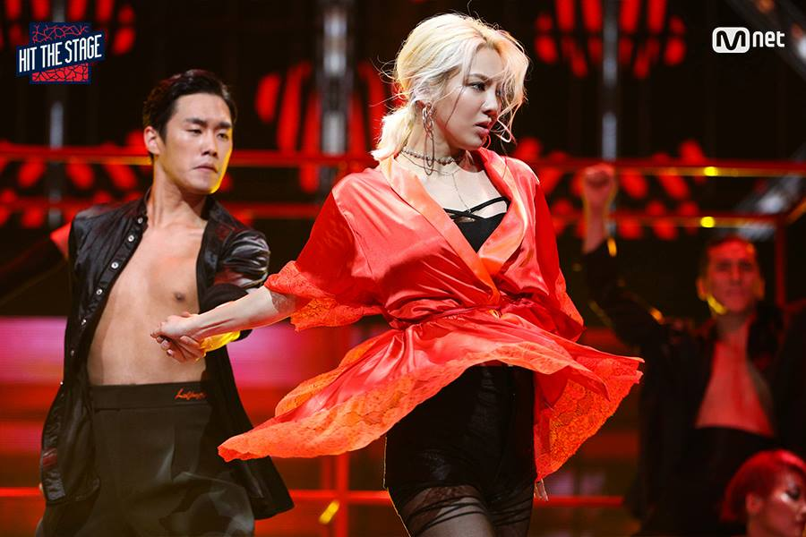 hyoyeon hit-the-stage