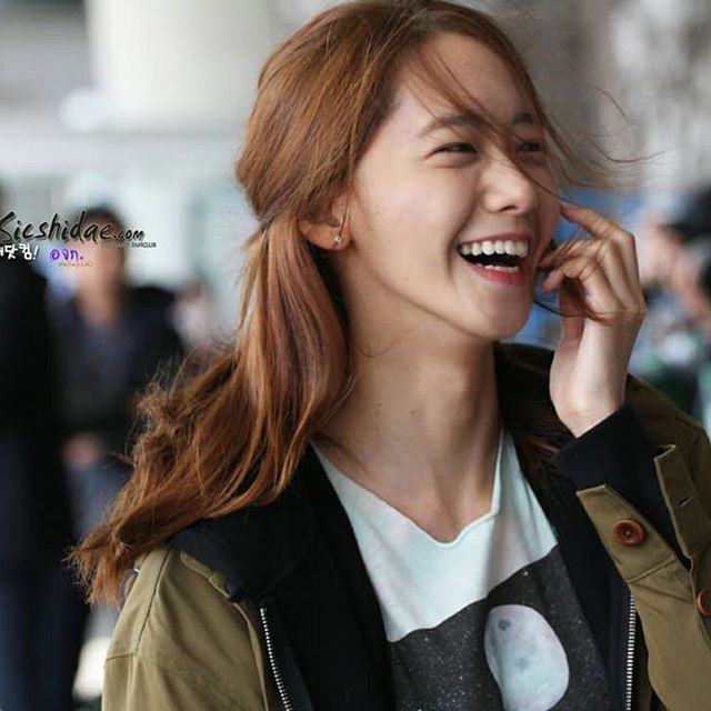 yoona cute laugh
